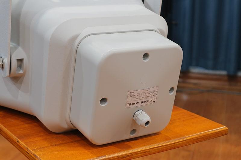 Đầu kết nối của Paso TF30-HF