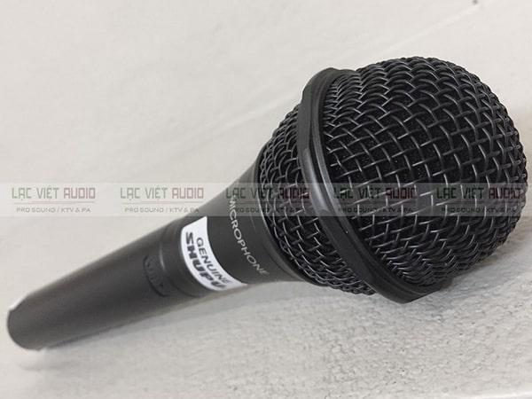 Micro Shupu có dây cho chất lượng âm thanh cực hay nhờ khả năng lọc âm và bắt âm tốt
