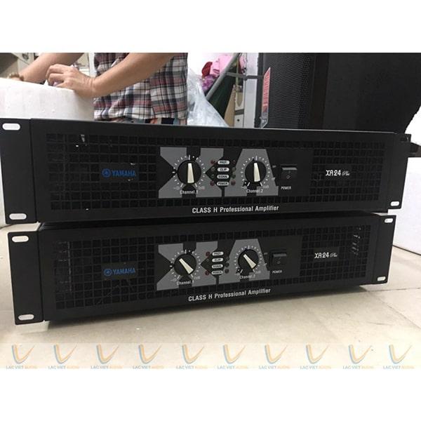 Cục đẩy Yamaha 24 sò là dòng đẩy âm thanh công suất lớn với nhiều tính năng vượt trộii
