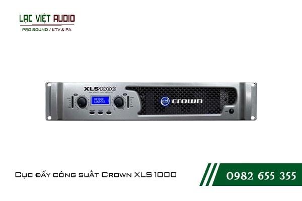 Cục đẩy bãi Crown XLS 1000 được đánh giá cao về chất lượng cũng như thiết kế bên ngoài