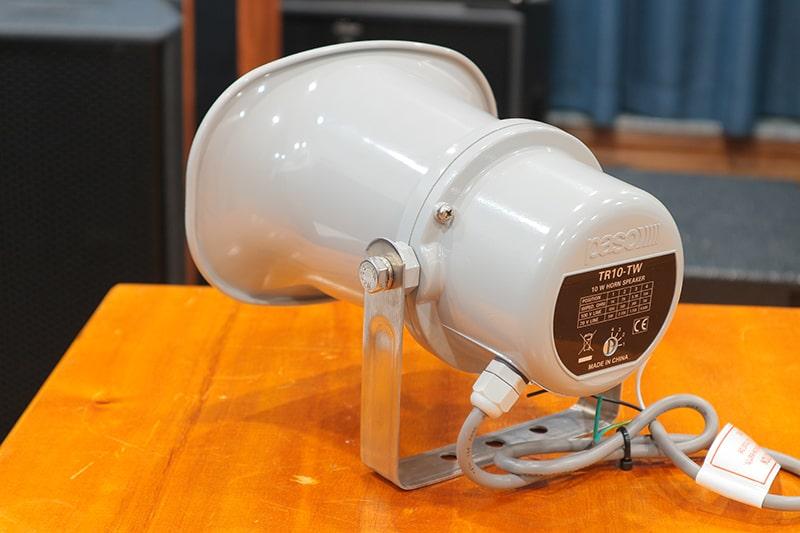 Dây kết nối và nút điều chỉnh của Paso TR-10TW