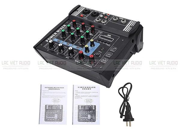 Mixer có công suất được ưa chuộng bởi tính năng tích hợp trộn xử lý và khuếch đại âm thanh