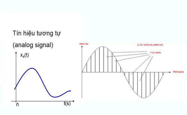 Đồ thị biểu diễn tín hiệu Analog