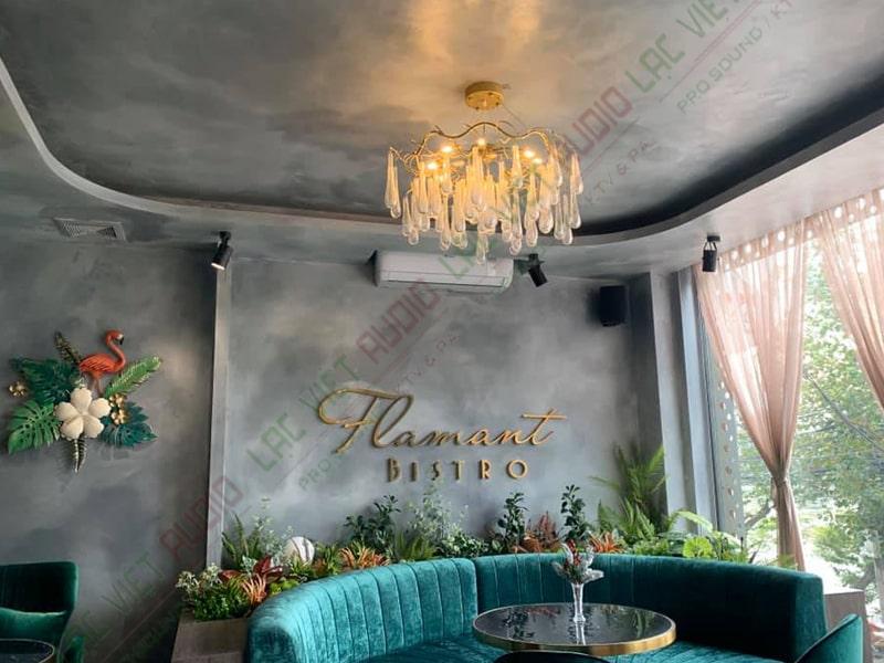 Không gian của quán cafe