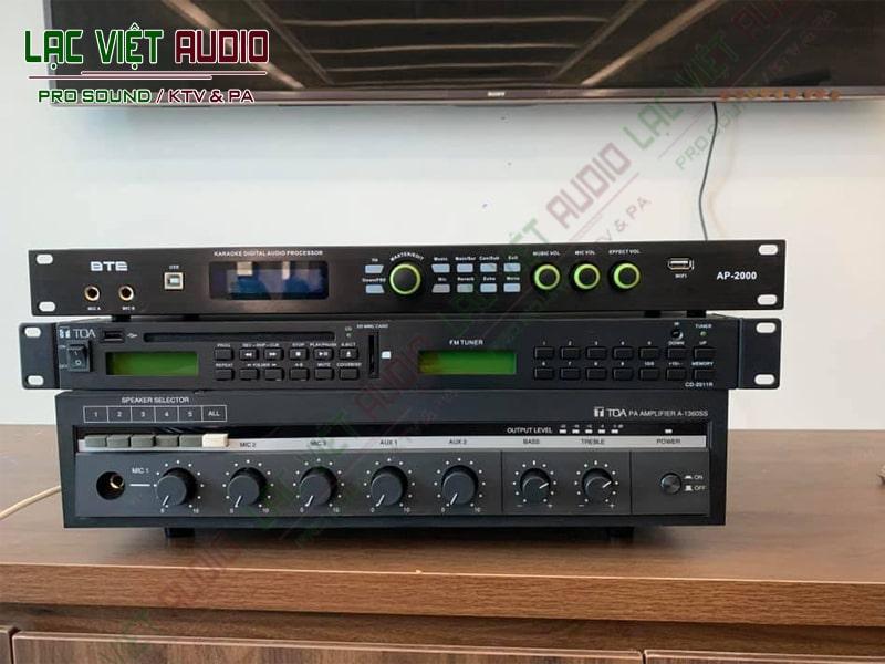 Các thiết bị trong dự án âm thanh