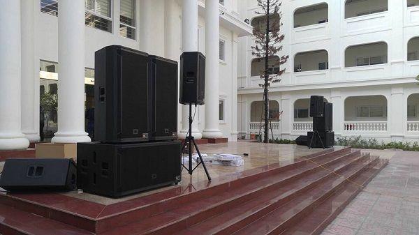 Dự án âm thanh sân khấu cho khách sạn MTA