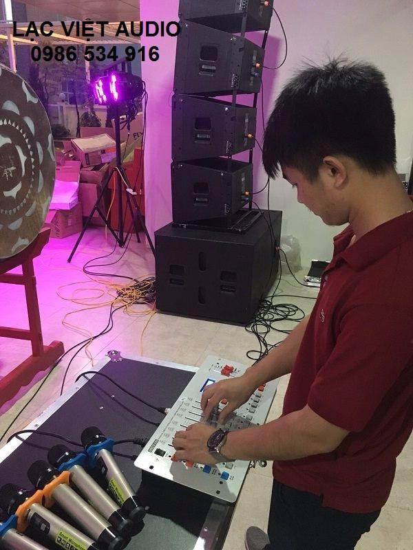 Dự án âm thanh cho trường THCS T.Xuân