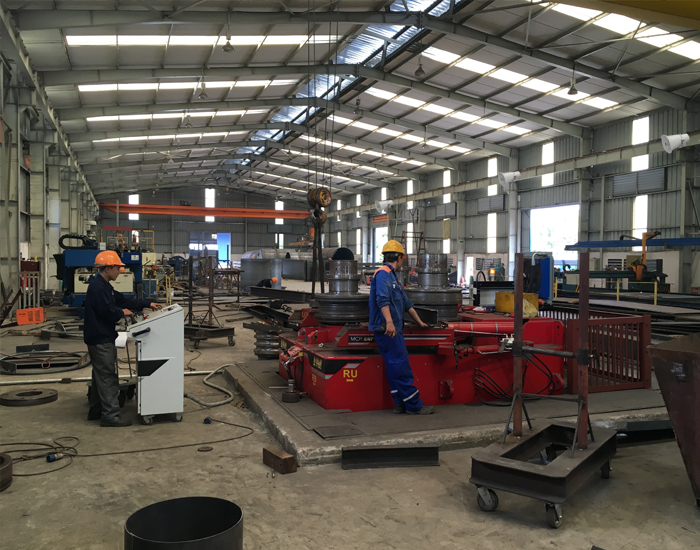 1 phân xưởng được lắp đặt hệ thống loa phóng thanh chuyên nghiệp