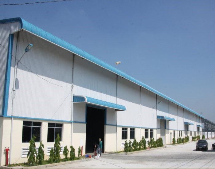 Nhà xưởng chế tạo cơ khí phúc giang bao gồm 3 phân xưởng chế tạo cơ khí