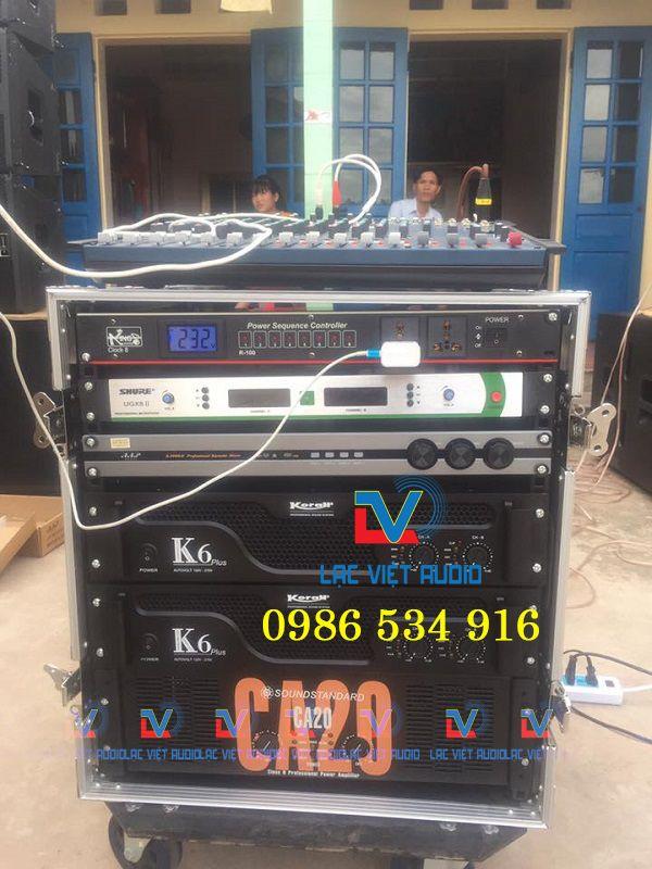 Cục đẩy công suất đóng vai trò quan trọng trong hệ thống âm thanh sân khấu