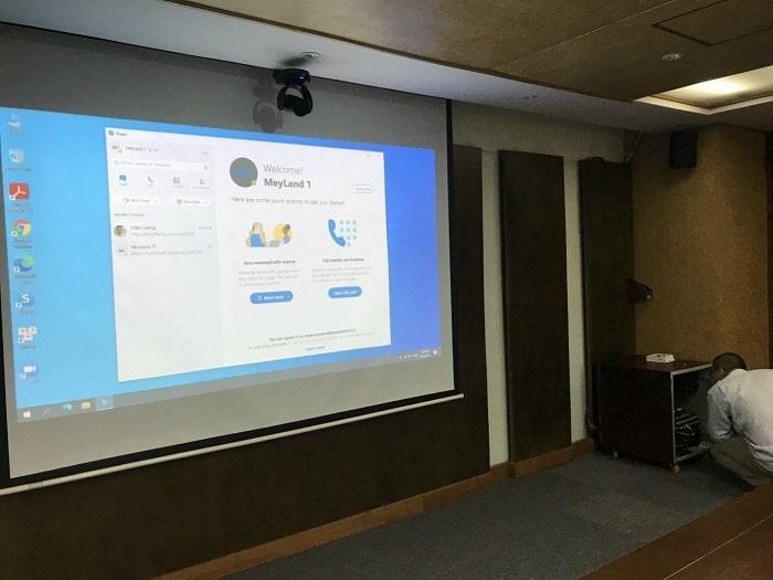 Phòng hội nghị hội thảo cho công ty HICASO Việt Nam