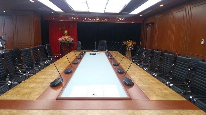 Micro hội thảo sử dụng trong phòng hội nghị