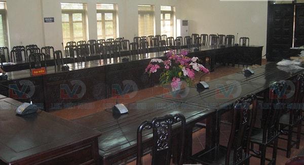 Hội trường sở nông nghiệp tỉnh Phú Thọ