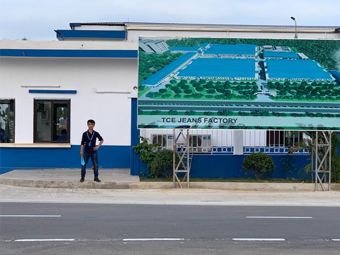 Lạc Việt Audio có mặt tại phân xưởng của công ty TCE Vina Denim Nam Định