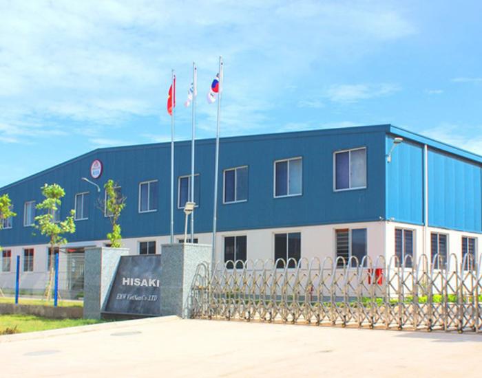 Nhà xưởng sản xuất gang tay y tế Hisaki được đặt tại Thái Nguyên