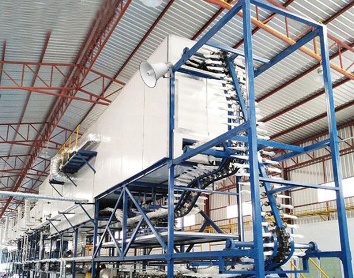 Hệ thống nhà xưởng sử dụng toàn bộ loa phóng thanh chuyên nghiệp