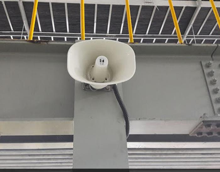 Loa phóng thanh được lắp đặt chuyên nghiệp mang đến hiệu quả cao khi sử dụng