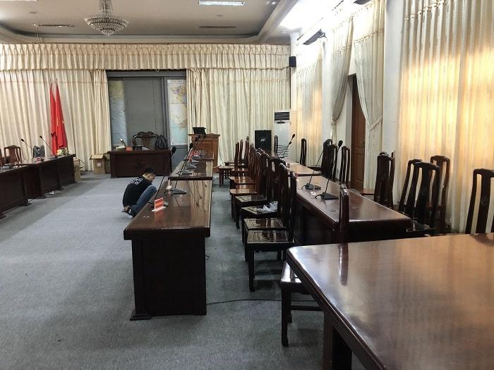 Lạc Việt Audio triển khai lắp đặt hệ thống âm thanh phòng họp chuyên nghiệp