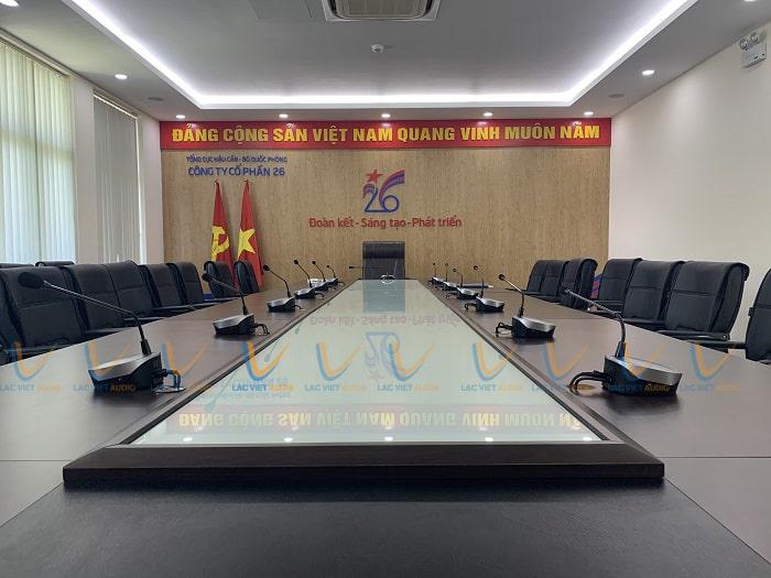 Phòng họp công ty CP 26 tổng cục hầu cần - Long Biên