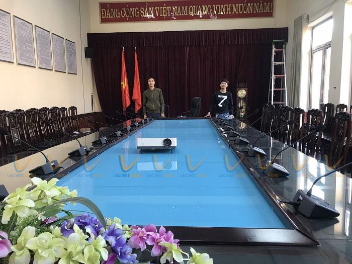 Phòng họp công ty đóng tàu quân đội Hải Phòng