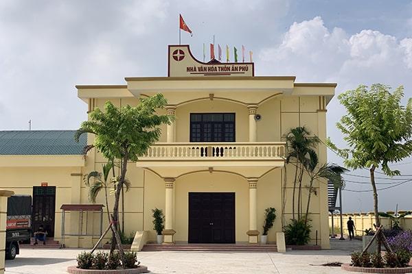 Dự án âm thanh sân khấu hội trường ủy ban thôn An Phú