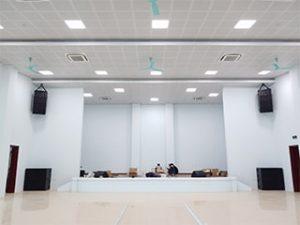 Dự án âm thanh sân khấu trường Cao đẳng Kỹ thuật Công nghệ Nam Định