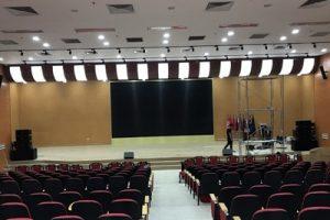 Dự án âm thanh hội trường, trường đại học công nghiệp dệt may hà Nội