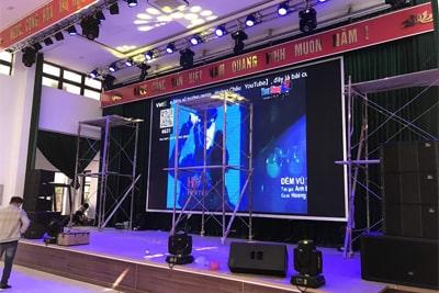 Dàn âm thanh hội trường UBND huyện Chi Lăng Tỉnh Lạng Sơn