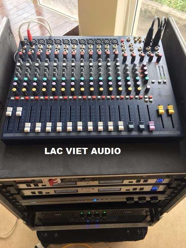 Bàn mixer SoundCraft EFX12 nhập khẩu chính hãng được cung cấp tại dự án