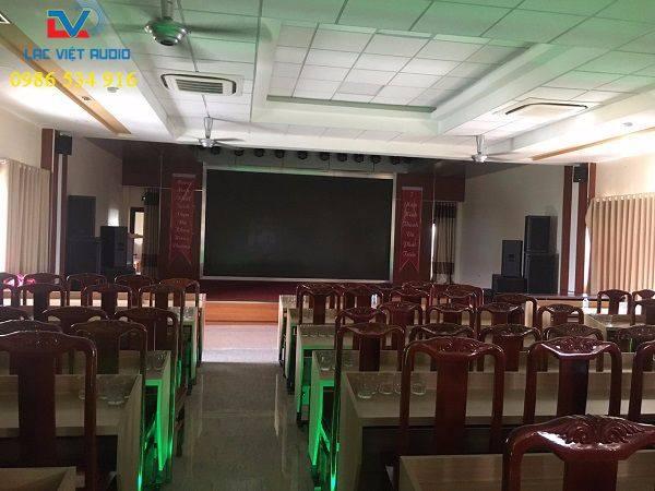 Hội trường của Bệnh Viện Hùng Vương sau khi dự án hoàn tất