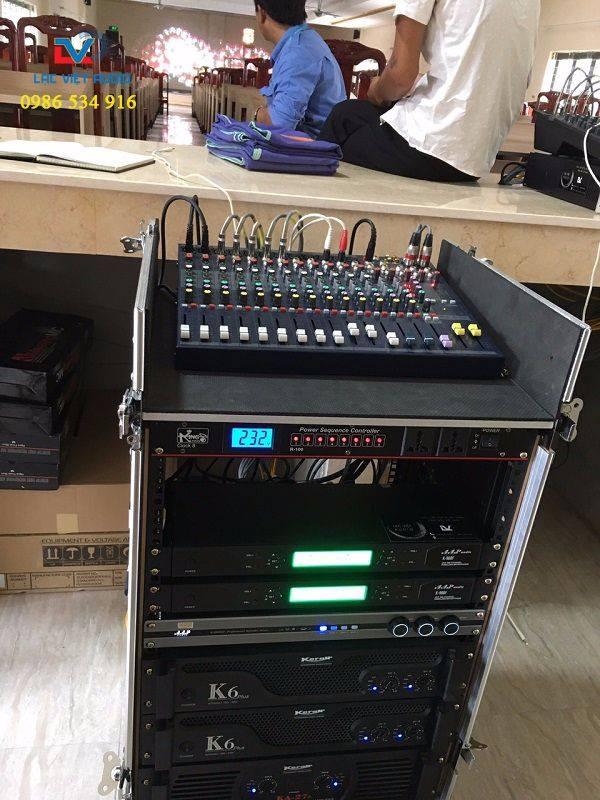 Bộ xử lý âm thanh chuyên dùng cho hội trường HVKHQS
