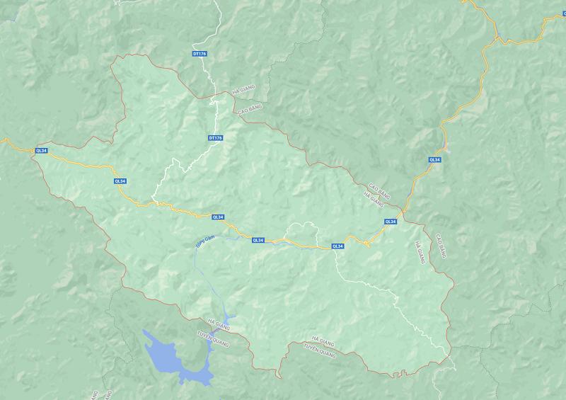huyện Bắc Mê - Hà Giang