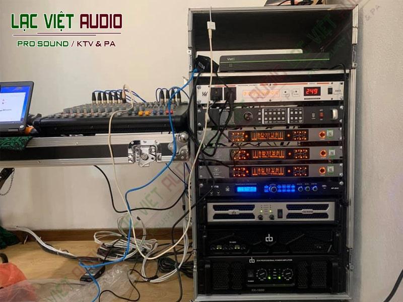 Chi tiết các sản phẩm thiết bị âm thanh trong dự án