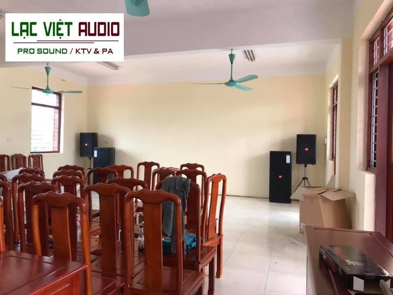 Giới thiệu về dự án âm thanh hội trường cho trường học mần non KN - Bắc Ninh