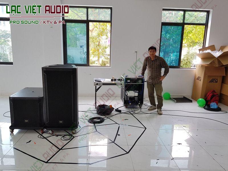 Chuẩn bị tiến hành lắp đặt thiết bị trong dự án