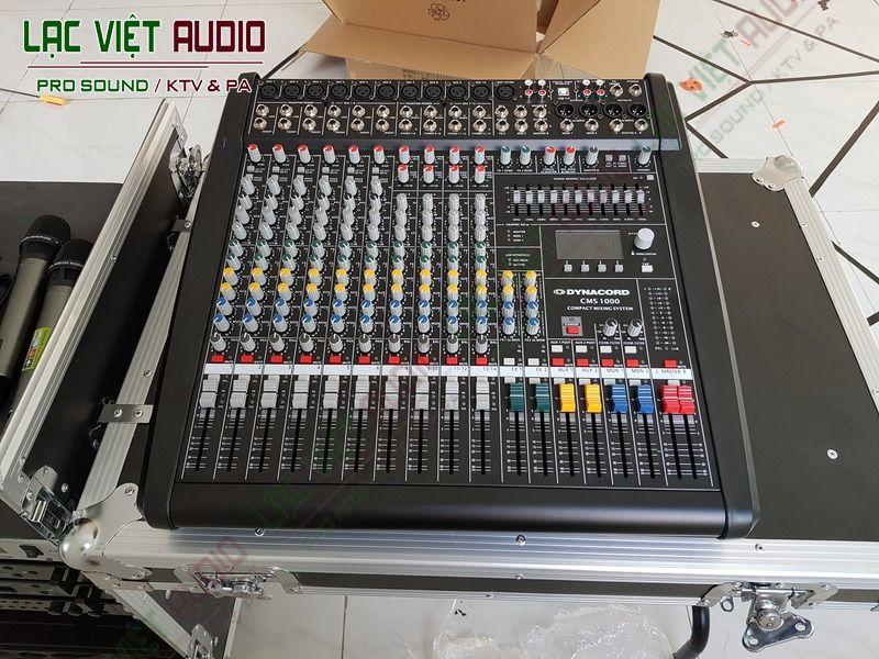 Chi tiết thiết bị mixer chuyên nghiệp