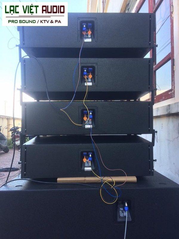 Hệ thống line array chuyên nghiệp