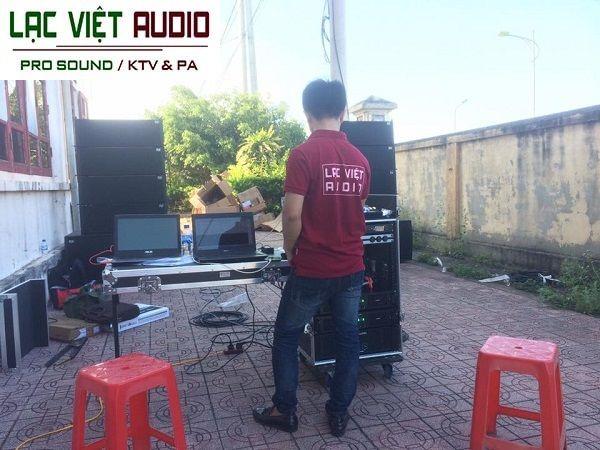 Lạc Việt Audio cung cấp dàn loa array ngoài trời