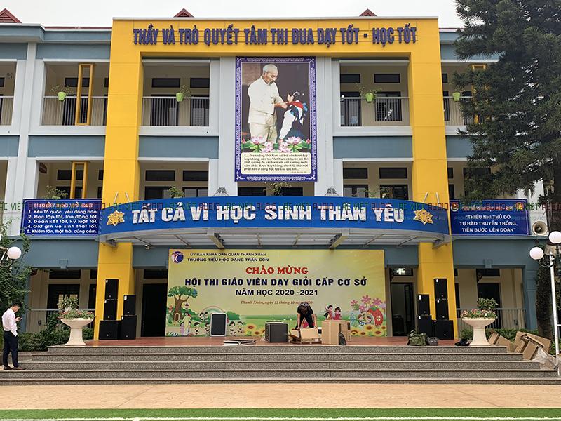 Dàn âm thanh trường tiểu học Đặng Trần Côn