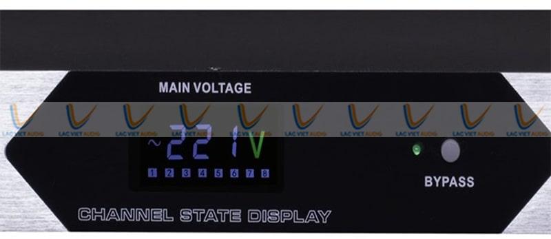 EUDAC SP-10 Pro có trang bị màn hình hiển thị