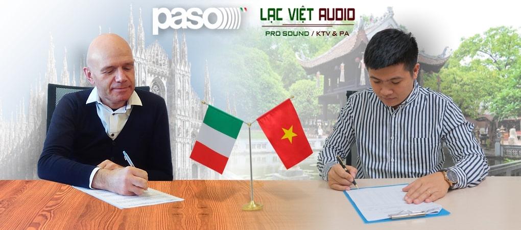 Lạc Việt Audio hợp tác với PASO - Italia phân phối hệ thống sơ tán EN54 và âm thanh PA