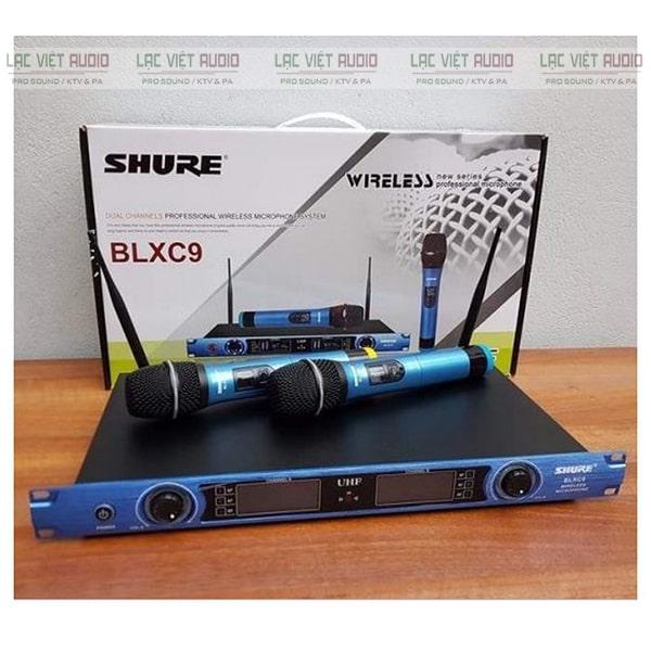 Mua micro không dây Shure BLXC9 chất lượng cao giá tốt tại Lạc Việt Audio