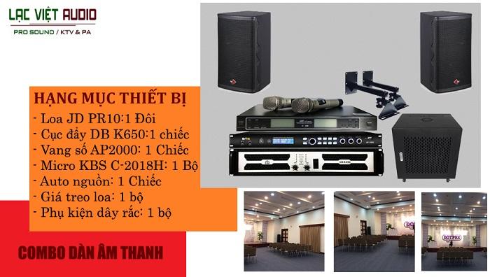 Giải pháp âm thanh phòng hội thảo nhỏ với diện tích 30-50m2