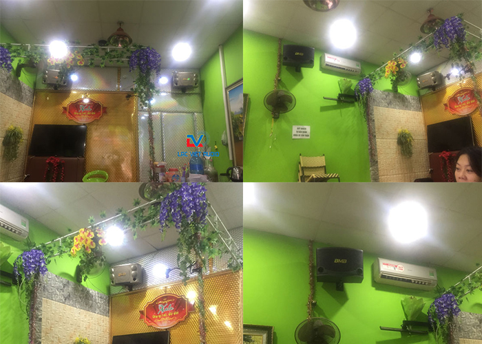 Hệ thống âm thanh cho quán cafe chuyên nghiệp