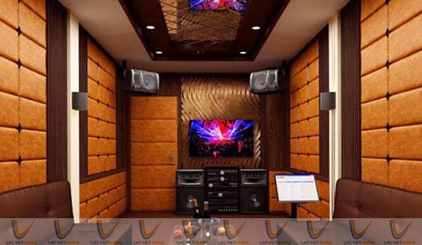 Hệ thống âm thanh của phòng karaoke