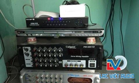 Hệ thống điều khiển âm thanh nhà yến