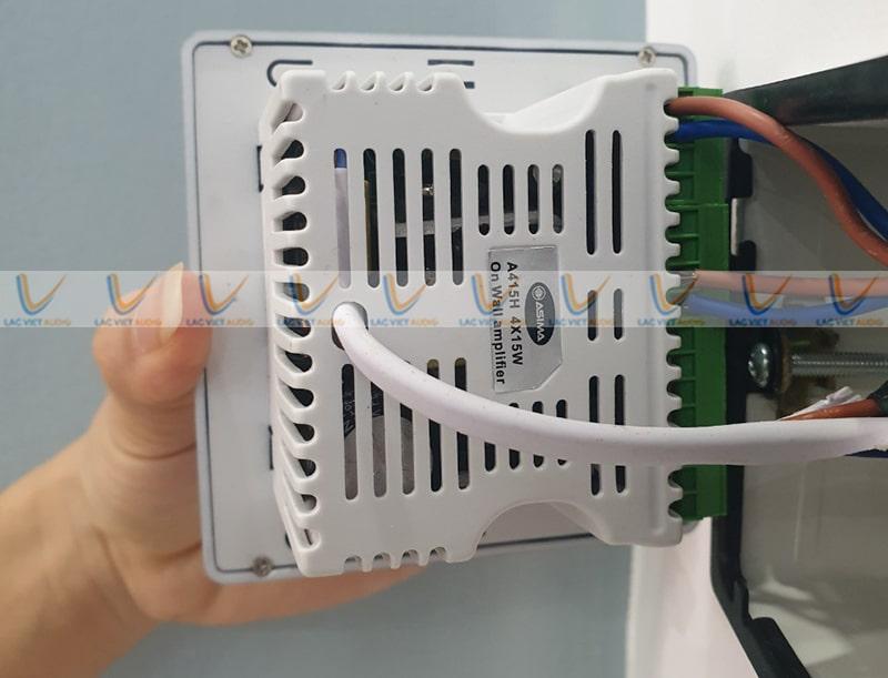 Hệ thống đầu kết nối của ASIMA AX-415