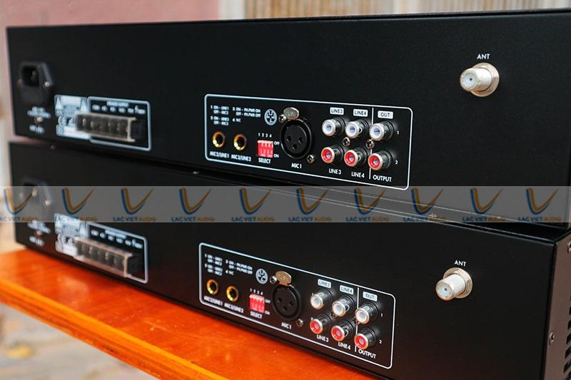 Hệ thống đầu vào Asima AX-500R đa dạng