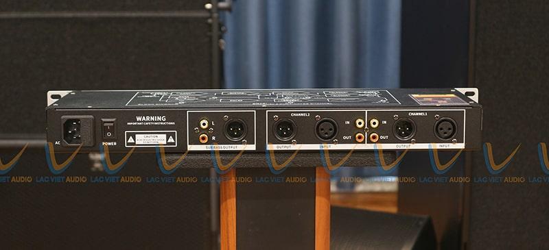 Hệ thống cổng kết nối của King HP-100