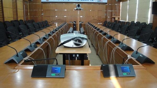 Hệ thống hội thảo Bosch có biểu quyết